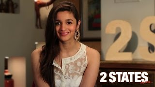Alia Bhatt - YouTube, Facebook, and Twitter Invite - 2 States