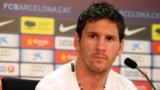 FC Barcelona Rueda De Prensa íntegra De Leo Messi 17/07