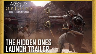 Assassin's Creed Origins - The Hidden Ones Launch Trailer