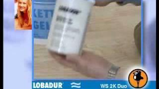 βερνίκι ξύλου παρκέ 2 συστατικών LOBADUR WS 2K Duo extra σκληρό και οικολογικό κατάλληλο ακόμα και για πάγκους κουζίνας