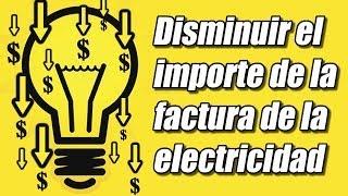 Ahorrar electricidad