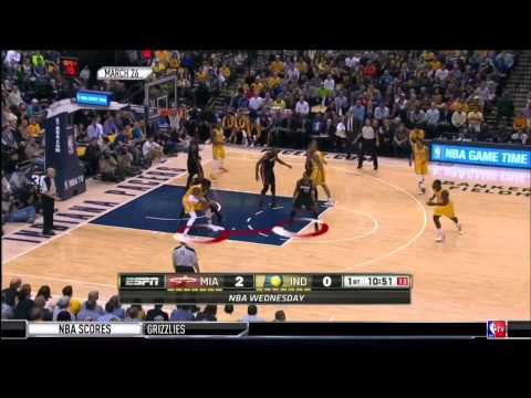 April 11, 2014 - NBATV - Game 79 Miami Heat Vs Indiana Pacers - Win (54-25)(NBA Gametime)