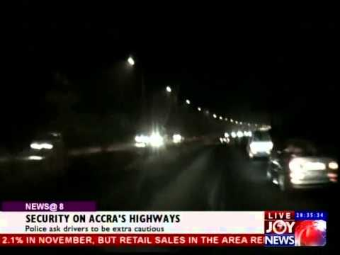Security on Accra's Highways