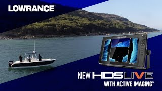 Видео обзор Lowrance HDS-9 LIVE с технологией Active Imaging 3-в-1