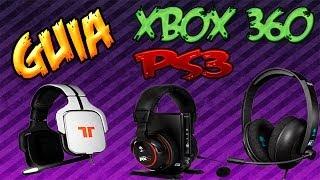 Como Hacer Un Headset/Cascos Baratos Para PS3 Y Xbox 360