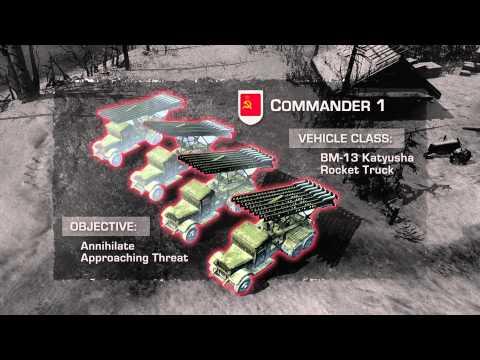 Company of Heroes 2 - трейлер сетевого режима
