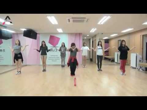A Pink - BUBIBU mirrored Dance Practice