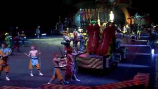 Opening act for Ringling Bros, Barnum & Bailey show