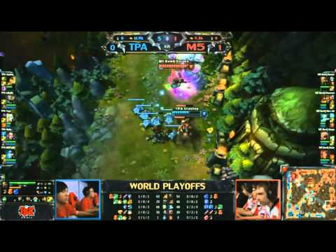 [Riot World Championships Season 2] [Bán Kết] [Game 1] M5 vs TPA [11.10.2012]