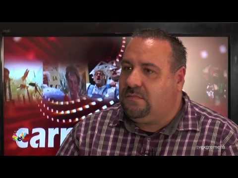 TELEVISION EXTREMEÑA PROGRAMA 5 CARNAVAL ENTREVISTA LOKACOSTAO Y CONVIVENCIA LA ANTIGUA
