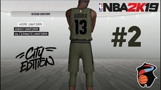 NBA 2K19 MyLEAGUE #2 | Ultra Realistic Expansion | OUR FIRST GAME | City Edition Jersey Unveiled