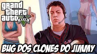 GTA V Bug Dos Clones Do Jimmy, Filho Do Michael