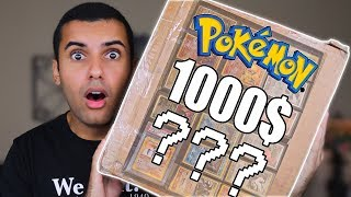 I BOUGHT SOMEONES ENTIRE POKEMON CARD COLLECTION FOR 1000$!!! YOU WON'T BELIEVE WHAT WAS IN IT!!!