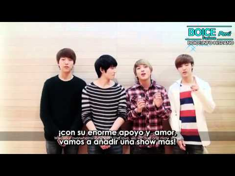 [SUB ESPAÑOL]BLUE MOON WORLD TOUR LIVE IN HK   2º Video saludo