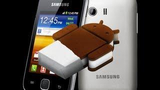 Atualizando Galaxy Y De Android 2.3.6 Para 4.1.1!!