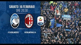 #AtalantaMilan 24ª giornata-5ª di ritorno Serie A TIM 2018-2019