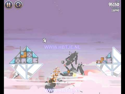 Angry Birds Star Wars Cloud City 4-9 3 stars