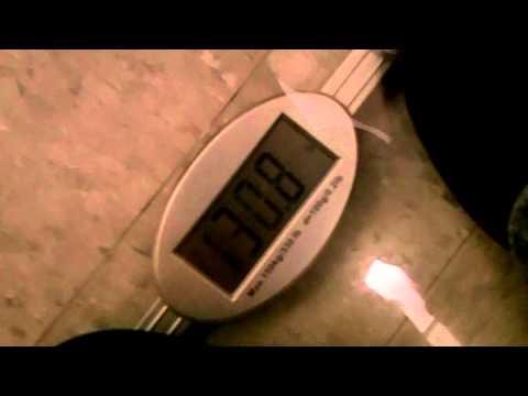 Asansörde yerçekimi ivmesinin değişimi ağırlığın artması