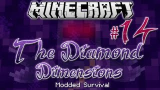 """THE CLONES!"" Diamond Dimensions Modded Survival #14"