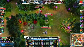 [GPL 2014 Mùa Đông] [Tứ Kết 3] [Game 3] AHQ e-Sports Club vs Singapore Sentinels [11.12.2013]