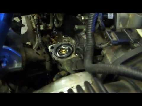 thermostat replacement on a 97 pontiac grand prix youtube. Black Bedroom Furniture Sets. Home Design Ideas