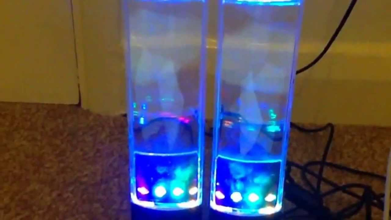 how to use water speakers with iphone