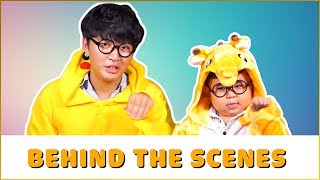"Anh Em Siêu Quậy ""WOOSSI và KUTIN"" | Behind The Scenes"