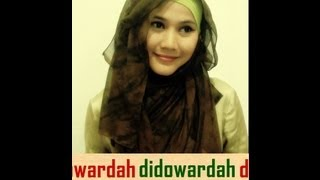 Tutorial Hijab Modern Paris By Didowardah Part #6