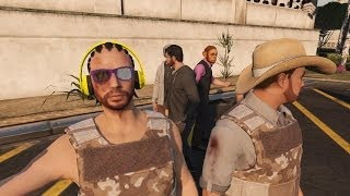 GTA Online Jahova Killing Spree! (GTA 5 Multiplayer Crazy Killing)