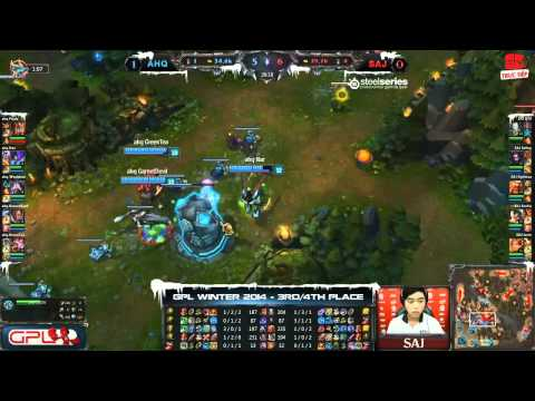 [GPL 2014 Mùa Đông] [Tranh 3-4] [Game 2] Saigon Jokers vs  AHQ e-Sports Club [08.01.2014]
