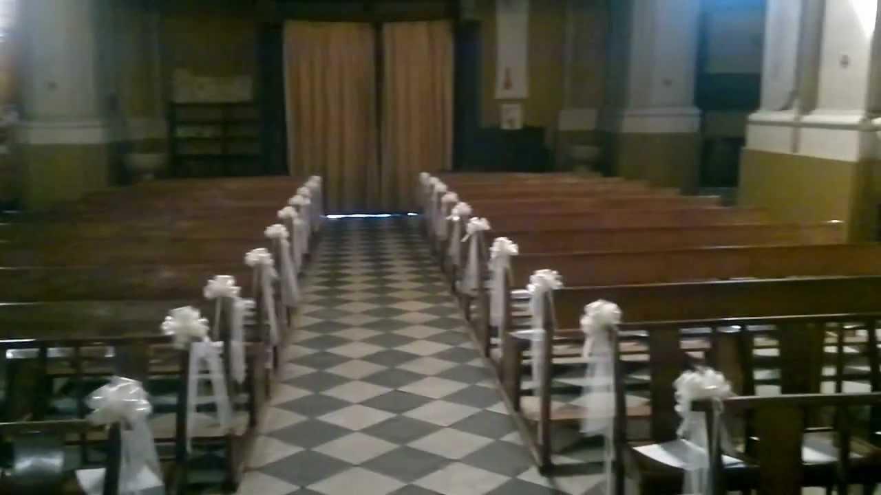 D coration glise mariage youtube - Decoration eglise mariage ...