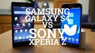 Samsung Galaxy S4 vs Sony Xperia Z karşılaştırma