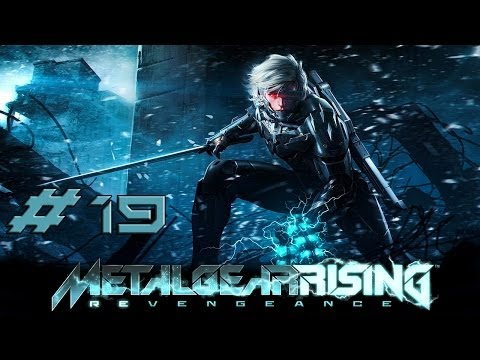 [HD] Metal Gear Rising Revengeance Part 19 (no commentary)