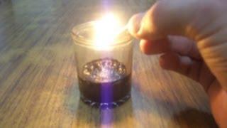 Experimentos de química con Catalizador