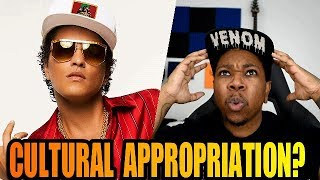 Bruno Mars vs Cultural Appropriation