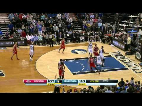 Houston Rockets vs Minnesota Timberwolves | April 11, 2014 | NBA 2013-14 Season