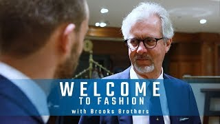 Welcome To Fashion with BROOKS BROTHERS 🤵🏻⚫🔵???