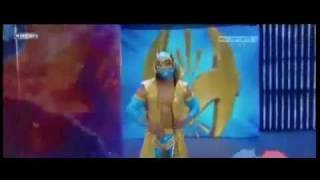 WWE RAW 4/25/11 Sin Cara Aka MISTICO Vs. Sheamus (dayview