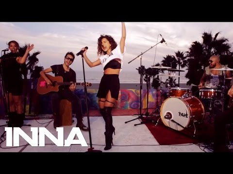 INNA - Cola Song (Live @ Rock The Roof - Venice Beach)