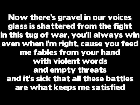 Rihanna - Love The Way You Lie (Part 2) ft. Eminem (Lyrics), Rihanna - Love The Way You Lie (Part 2) ft. Eminem (Lyrics)