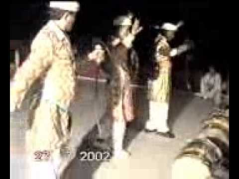 Hunza traditional sward  dance.