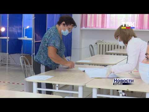 Бердчане приходят на избирательные участки голосовать по поправкам в конституцию и за «Народный бюджет»