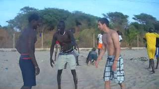 Lutte Traditionelle Sénégalaise