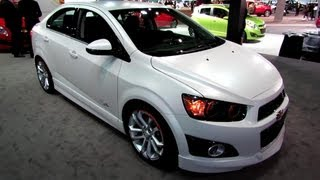 2013 Chevrolet Sonic LTZ Turbo Z-Spec Exterior, Interior
