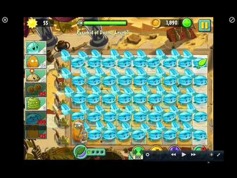 Hình ảnh trong video plants vs zombies 2 winter melon party