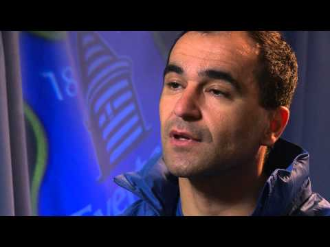 Roberto Martinez on Everton's game against Spurs and the club's Remembrance Day activities