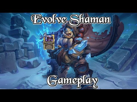 [Legend] Gameplay: TwoBiers's Evolve Token Shaman Kobolds And Catacombs (Hearthstone Guide)