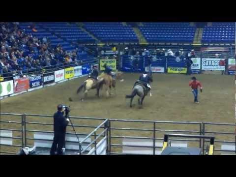 Rodeo Americano en Reading, Pennsylvania. Feb. 2, 2013