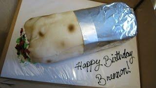 CHIPOTLE BURRITO BIRTHDAY CAKE! (600k Subs Thank You Vlog)