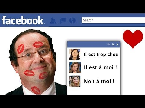 Image video Hollande, le bourreau des cœurs sur Facebook
